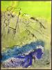 Le Peintre et ses Modèles.Lithographie originale pour VISION DE PARIS. VERVE VOLUME VII. Nos 27-28. 1952.. CHAGALL, Marc