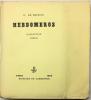 HEBDOMEROS. 1 des 12 sur papier impérial du Japon.. DE CHIRICO, Giorgio