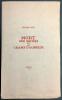 MORT AUX VACHES ET AU CHAMP D'HONNEUR. 1/50 avec l'eau-forte signée de Max Ernst.. PÉRET, Benjamin - ERNST, Max