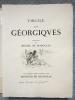 LES GEORGIQUES - GEORGICA. 119 eaux-fortes originales dont 46 signées au crayon par l'artiste.. VIRGILE - DE SEGONZAC, André Dunoyer