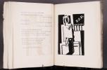 LE VOLANT D'ARTIMON. POÈMES. 1/10 Hollande avec un envoi (1922).. DERMÉE, Paul - MARCOUSSIS, Louis