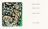 MINES DE RIEN. 4 gravures originales en couleurs (1957). DESNOS, Robert - MASSON, André