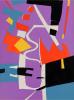 CORTÈGE. 24 pochoirs (ex. de tête avec suite complète) 1959.. LECUIRE, Pierre - LANSKOY, André