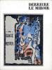 Derrière le Miroir n° 133-134. DER BLAUE REITER. Oct.-Novembre 1962.. Artistes Multiples. KANDINSKY, Wassily - Pierre Volboudt, Will Grohmann.