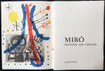 DERRIÈRE LE MIROIR N° 151-152. MIRO, CARTONS. Mai 1965. DE LUXE SIGNÉ..