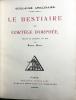 LE BESTIAIRE ou le Cortège d'Orphée. (Édition originale de 1911).. APOLLINAIRE, GUILLAUME - RAOUL DUFY