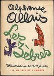 LES ZÈBRES, illustrations de H. Monier. ALLAIS, Alphonse