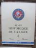 Revue Historique de l'Armée (21 numéros de 1946 à 1953). ETAT-MAJOR