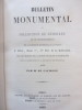 Bulletin monumental ou collection de mémoires et de renseignements sur la statistique monumentale de la France. 4ème série. M. de Caumont