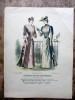 Le Conseiller des Dames et des Demoiselles (13 gravures de mode en couleurs). Anonyme