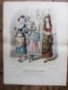 Le Moniteur de la Mode (59 gravures de mode en couleurs). Jules David / Bonnard / Tailland / Préval / Cheffen