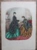 La Mode Illustrée (50 planches de gravures de mode en couleurs) . Huard / Héloïse Leloir / Anaïs Toudouze / Bonnard / Réville / Laure Noëlle