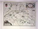 Ducatus Turonensis. Touraine. Perlustratu et descriptus ab Isaaco Franco. . (CARTE DE TOURAINE). BLAEU.