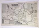 Les jonctions des deux grandes rivières de Loire et de Seine par le NOUVEAU CANAL D'ORLEANS, et celuy de BRIARE.  Mis au jour par le Sr. de Fer. . ...