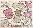 Comitatus Zelandiæ Novissima Delineatio per Nicolaum Visscher.... (CARTE DES  PAYS-BAS - ZÉLANDE). VISSCHER, Nicolas.