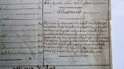 Etat de service d'un militaire, Pierre-Etienne Monneret, détaillant ses campagnes, blessures et actions d'éclat. Document émis par l'administration ...