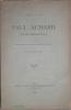 Paul Achard - Notice biographique lue à la séance publique de l'Académie de Vaucluse le 21 décembre 1884.. MOUZIN (Alexis)