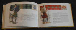 """""""The Scottish Tartans with Historical Sketches of the Clans and Families of Scotland - The Badges Arms Slogans etc...of the Clans""""."""