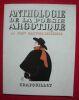 """""""Anthologie de la poésie argotique poissarde et populaire de Villon à Bruant"""". """"Jean Galtier-Boissière"""""""
