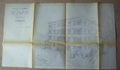 """""""Ville d'Aumale ? étude d'un immeuble dans le cadre H.L.M. de 16 logements"""". """"Marcel Pankhauser"""""""