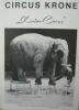 """""""Programme cirque Circus Krone 1969""""."""