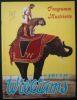 """""""Programme cirque Circus Williams 1968""""."""