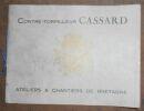 """""""Livre d'Or du contre-torpilleur Cassard"""". """"Pierre Le Conte"""""""