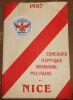 """""""Concours Hippique International Militaire de Nice""""."""