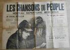 """""""Les Chansons du Peuple - Nouveau Répertoire de Montéhus"""". Montéhus"""