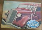 """""""Plaquette publicitaire de la V8-48 Ford"""". """"Paul Iribe"""""""
