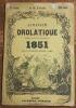 """""""Almanach Drolatique Anecdotique Satirique et Dramatique pour 1851 par une Société Danon?ymes""""."""