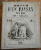 """""""Almanach d'un Paysan pour 1850"""". """"P. Joigneaux"""""""