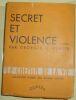 """""""Secret et Violence"""". """"Georges C. Glaser"""""""