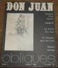 """""""Don Juan analyse d'un mythe volume 2"""". """"? Butor Baudelaire Vogelweith Powys Byron Apollinaire Prieur Martinon Mérimée Pouchkine Backes Blok Delcourt ..."""