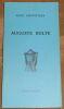 """""""Auguste Bolte"""". """"Kurt Schwitters Max Ernst"""""""
