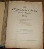 """""""Die Olympischen Spiele in Los Angeles 1932""""."""