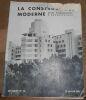 """""""La Construction Moderne Revue Hebdomadaire d'Architecture n°20 52 ème année""""."""