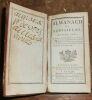 """""""Almanach de Versailles Année 1781 Contenant la description de la Ville du Château du Parc ; la Maison du Roi celles de la Reine et de la Famille ..."""
