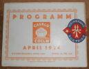 """Programme « Cavalu » Köln 1924""."