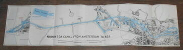 """""""North Sea Canal from Amsterdam to Sea""""."""