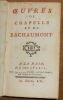 """""""?uvres de Chapelle et de Bachaumont"""". """"Chapelle et Bachaumont"""""""