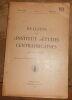 """""""Bulletin de l'Institut d'Etudes Centrafricaines vol. II fasc.1"""". """"Roger Martin P. L. Herse Médecin lieutenant Lalouel"""""""