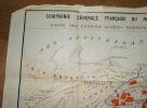 """""""Carte de Maroc Algérie Tunisie"""". """"E. Nardin"""""""