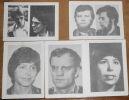 """""""5 Photos de Membres de la Fraction Armée Rouge (RAF )""""."""