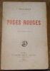 """""""Pages Rouges"""". Séverine"""