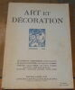 """Art et décoration n°300"". ""Jean Gallotti Tristan Klingsor Pierre Colombier"""