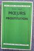 """Moeurs et prostitution"". ""Marcel Robert"""