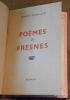 """Poèmes de Fresnes"". ""Robert Brasillach"""