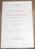 """""""Dictionnaire de la Langue Limousine tome I"""". """"Maurice Robert"""""""