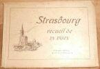 """Strasbourg recueil de 24 vues""."